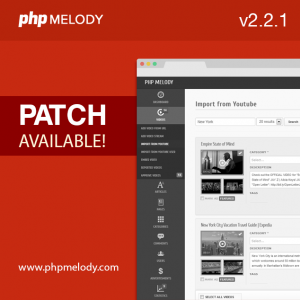 PHP Melody 2.2.1